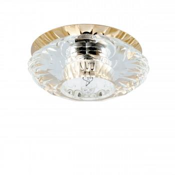 Встраиваемый точечный декоративный светильник под заменяемые галогенные или LED лампы Bomo Lightstar 004512