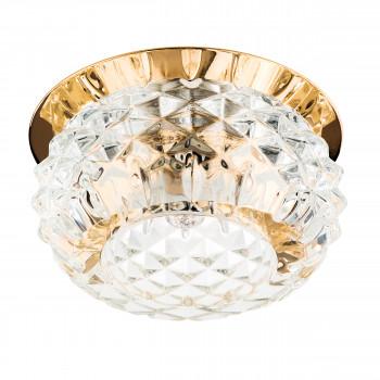 Встраиваемый точечный декоративный светильник под заменяемые галогенные или LED лампы Cesare Lightstar 004252
