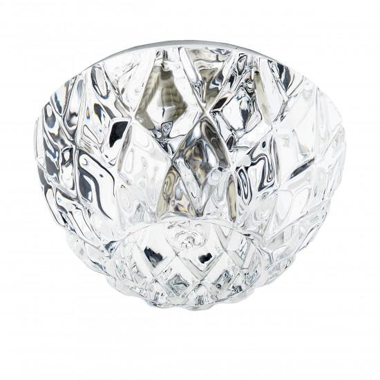 Встраиваемый точечный декоративный светильник под заменяемые галогенные или LED лампы Faseta Lightstar 004334 в интернет-магазине ROSESTAR фото