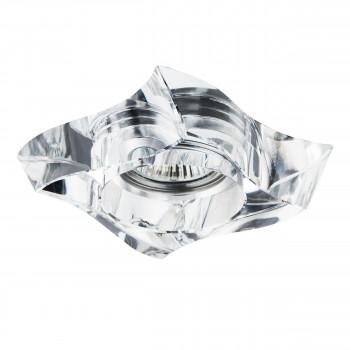 Встраиваемый точечный декоративный светильник под заменяемые галогенные или LED лампы Flutto Lightstar 006430
