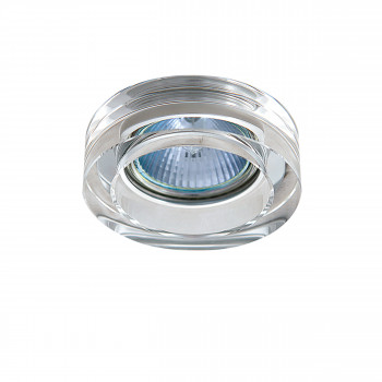 Встраиваемый точечный декоративный светильник под заменяемые галогенные или LED лампы Lei mini Lightstar 006130