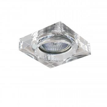 Встраиваемый точечный декоративный светильник под заменяемые галогенные или LED лампы Lui mini Lightstar 006140