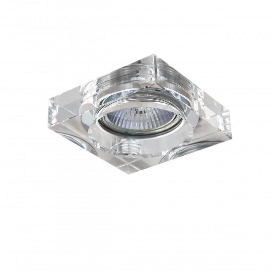 Встраиваемый точечный декоративный светильник под заменяемые галогенные или LED лампы Lui mini Lightstar 006140 в интернет-магазине ROSESTAR фото