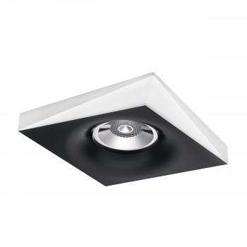 Встраиваемый точечный декоративный светильник под заменяемые галогенные или LED лампы Miriade Lightstar 011005