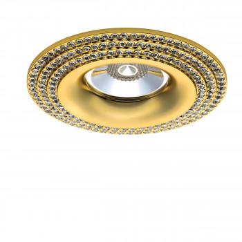 Встраиваемый точечный декоративный светильник под заменяемые галогенные или LED лампы Miriade Lightstar 011972