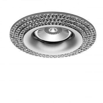 Встраиваемый точечный декоративный светильник под заменяемые галогенные или LED лампы Miriade Lightstar 011974
