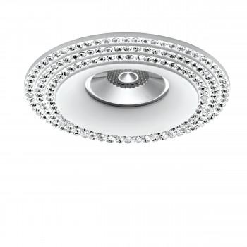 Встраиваемый точечный декоративный светильник под заменяемые галогенные или LED лампы Miriade Lightstar 011976