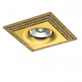 Встраиваемый точечный декоративный светильник под заменяемые галогенные или LED лампы Miriade Lightstar 011982