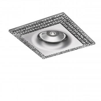 Встраиваемый точечный декоративный светильник под заменяемые галогенные или LED лампы Miriade Lightstar 011984