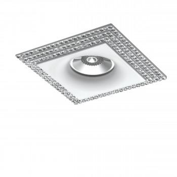 Встраиваемый точечный декоративный светильник под заменяемые галогенные или LED лампы Miriade Lightstar 011986