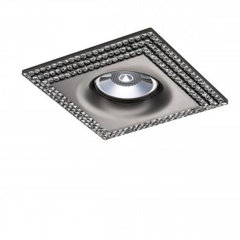 Встраиваемый точечный декоративный светильник под заменяемые галогенные или LED лампы Miriade Lightstar 011987
