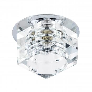 Встраиваемый точечный декоративный светильник под заменяемые галогенные или LED лампы Romb Lightstar 004060