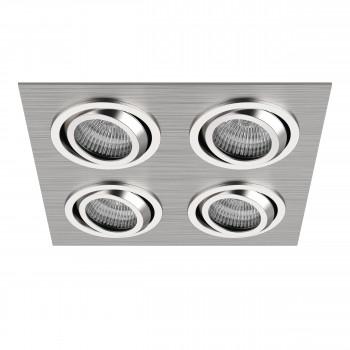 Встраиваемый точечный декоративный светильник под заменяемые галогенные или LED лампы Singo Lightstar 011604