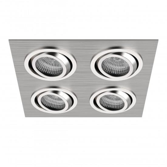 Встраиваемый точечный декоративный светильник под заменяемые галогенные или LED лампы Singo Lightstar 011604 в интернет-магазине ROSESTAR фото