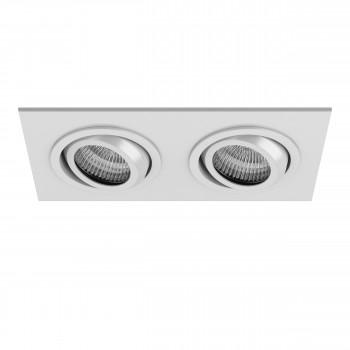 Встраиваемый точечный декоративный светильник под заменяемые галогенные или LED лампы Singo Lightstar 011612
