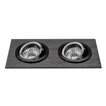 Встраиваемый точечный декоративный светильник под заменяемые галогенные или LED лампы Singo Lightstar 011622