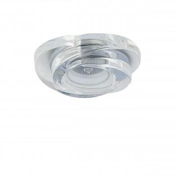 Встраиваемый точечный декоративный светильник под заменяемые галогенные или LED лампы Spira Lightstar 006400