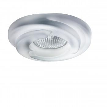 Встраиваемый точечный декоративный светильник под заменяемые галогенные или LED лампы Spira Lightstar 006401
