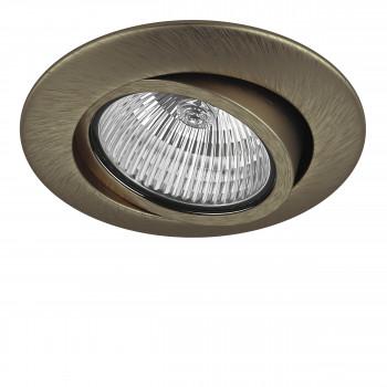 Встраиваемый точечный декоративный светильник под заменяемые галогенные или LED лампы Teso adj Lightstar 011081