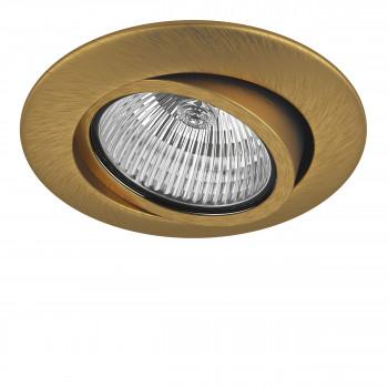 Встраиваемый точечный декоративный светильник под заменяемые галогенные или LED лампы Teso adj Lightstar 011083
