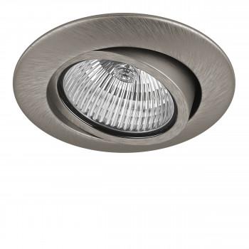 Встраиваемый точечный декоративный светильник под заменяемые галогенные или LED лампы Teso adj Lightstar 011085