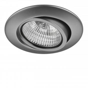 Встраиваемый точечный декоративный светильник под заменяемые галогенные или LED лампы Teso adj Lightstar 011089