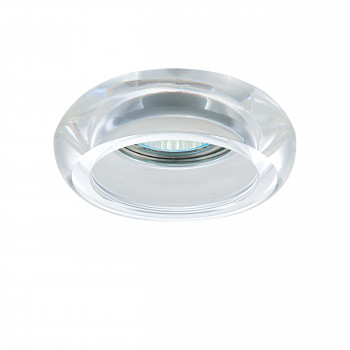 Встраиваемый точечный декоративный светильник под заменяемые галогенные или LED лампы Tondo Lightstar 006200