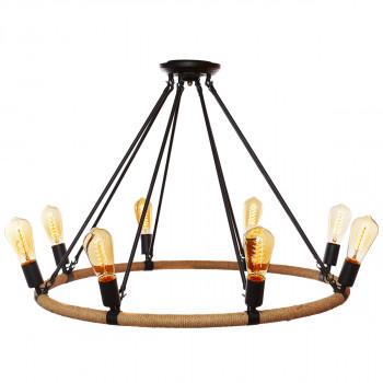 Подвесная люстра Loft it Rope filament LOFT1861/8