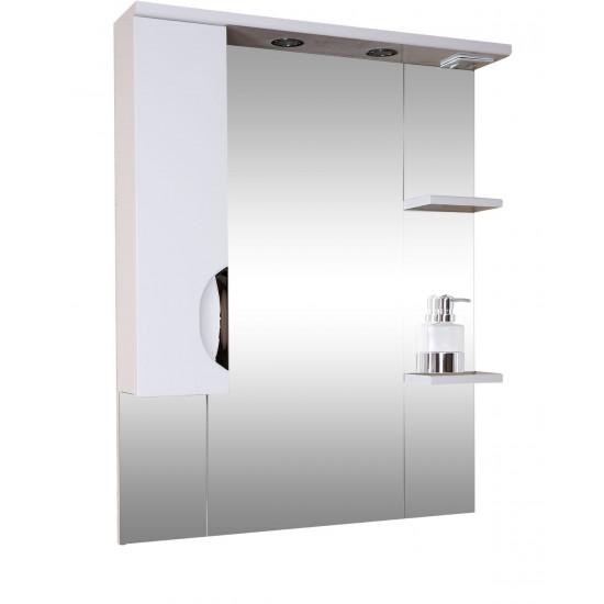 Зеркало-шкаф Люкс 80 в интернет-магазине ROSESTAR фото