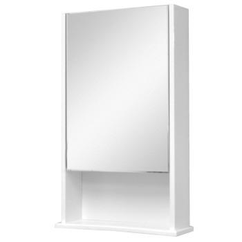 Зеркало-шкаф Фортуна с полкой 50