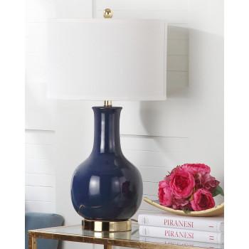 Настольная лампа Майло Тёмно-синий