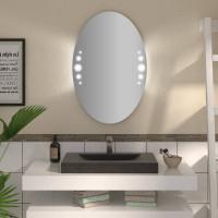 Овальное зеркало с подсветкой Кайа