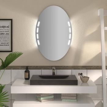 Овальное зеркало с подсветкой Кейл