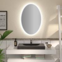 Овальное зеркало с подсветкой Мейла