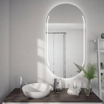 Овальное зеркало с подсветкой Орфей