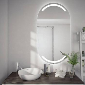 Овальное зеркало с подсветкой Портал