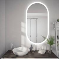 Овальное зеркало с подсветкой Шайн