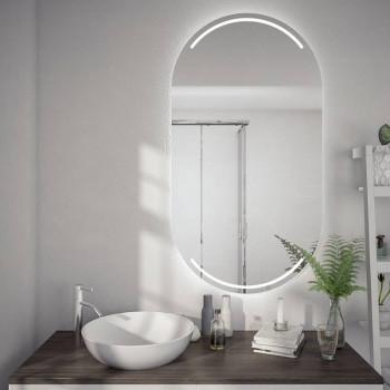 Овальное зеркало с подсветкой Софт
