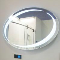 Овальное настенное зеркало со светодиодной LED-подсветкой Venessa