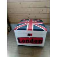 Пуф с ящиком «Лондон»
