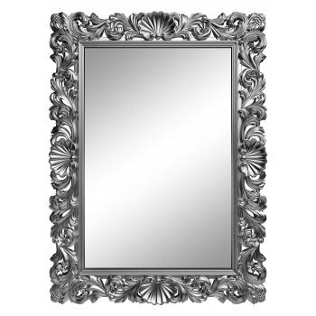 Зеркало настенное в серебряной раме «Арне» Серебро хром