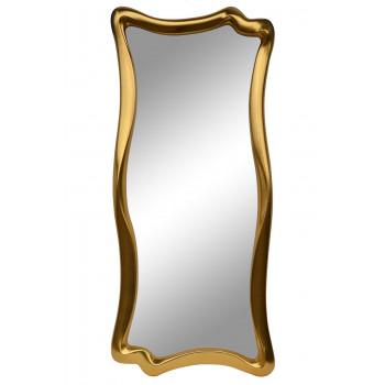 Зеркало настенное в фигурной раме «Марна» Золото королевское