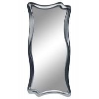 Зеркало настенное в фигурной раме «Марна» Серебро хром