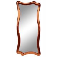 Зеркало настенное в фигурной раме «Марна» Медь