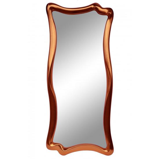 Зеркало настенное в фигурной раме «Марна» Медь в интернет-магазине ROSESTAR фото