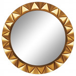 Круглые зеркала с фацетом