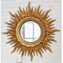Зеркало солнце «Ринд» лучи цвета Золото/патина в интернет-магазине ROSESTAR фото 3