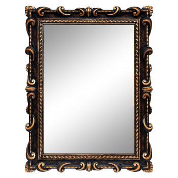 Зеркало настенное в раме «Лива» Венге/золото