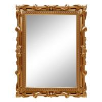 Зеркало настенное в золотой раме «Лива» Золото