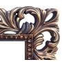Зеркало настенное в раме «Анника» Венге/золото в интернет-магазине ROSESTAR фото 1